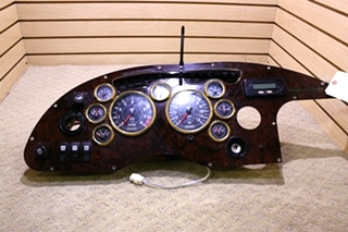 USED MONACO SIGNATURE DASH CLUSTER AND GAUGES FOR SALE