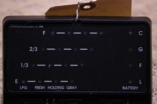USED KIB TANK MONITOR PANEL FOR SALE