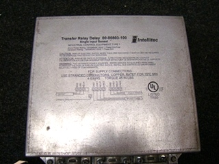 USED RV/MOTORHOME INTELLITEC TRANSFER RELAY DELAY SINGLE OUTPUT FOR SALE