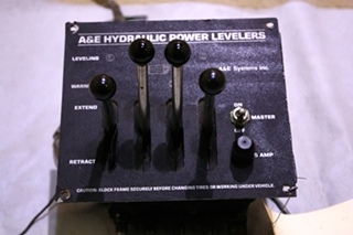 USED HYDRAULIC POWER LEVELERS JOYSTICK FOR SALE