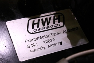 USED RV HWH HYDRAULIC PUMP AP29807 FOR SALE