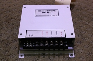 USED RV/MOTORHOME HELIOTROPE SOLAR CHARGER RV-45D FOR SALE