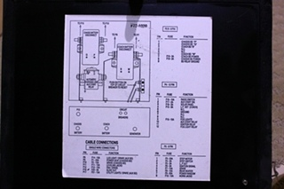 USED BATTERY CONTROL CENTER FOR SALE
