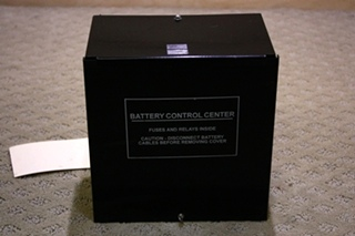 USED RV/MOTORHOME BATTERY CONTROL CENTER 73-00861 FOR SALE