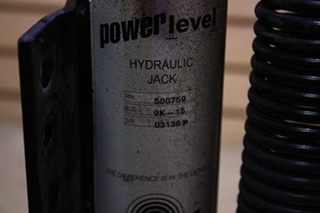 USED RV/MOTORHOME POWER GEAR LEVELING JACK 500759 FOR SALE