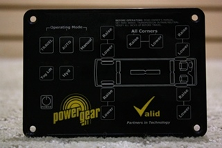 USED POWER GEAR VALID LEVEL CONTROLLER VTL02A006-1 FOR SALE