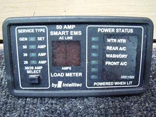 USED RV/MOTORHOME INTELLITEC 50AMP EMS SMART BOARD FOR SALE